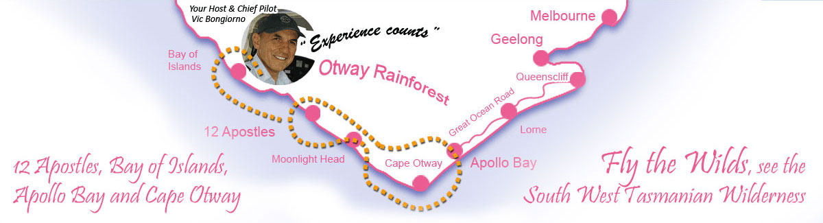 Cape Otway map footer